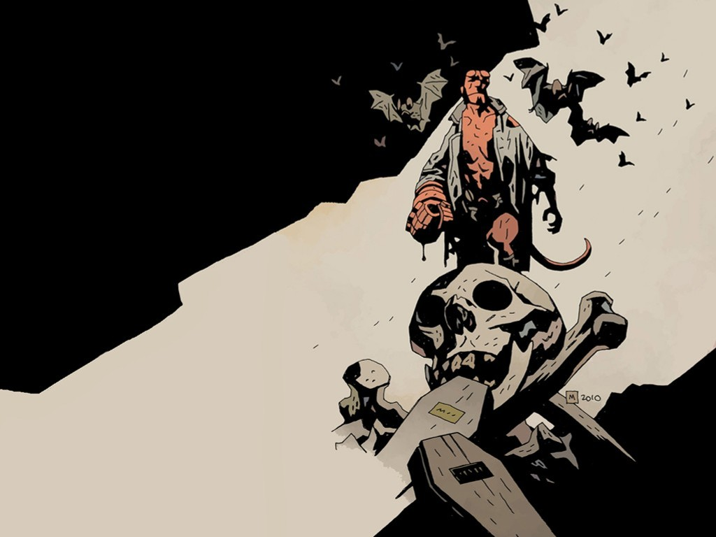 Comics Wallpaper: Hellboy