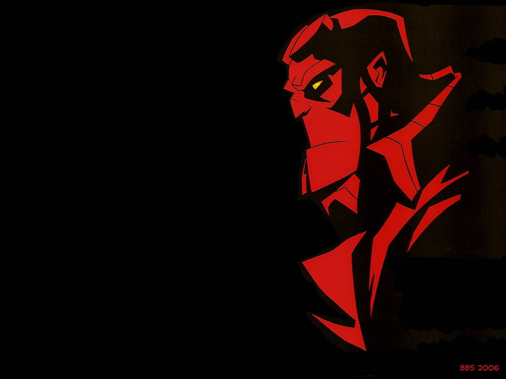 Comics Wallpaper: Hellboy - Animated