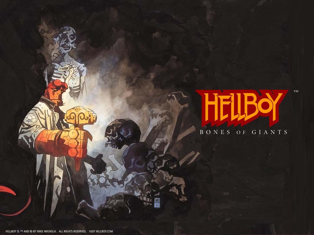 Comics Wallpaper: Hellboy - Bones of Giants