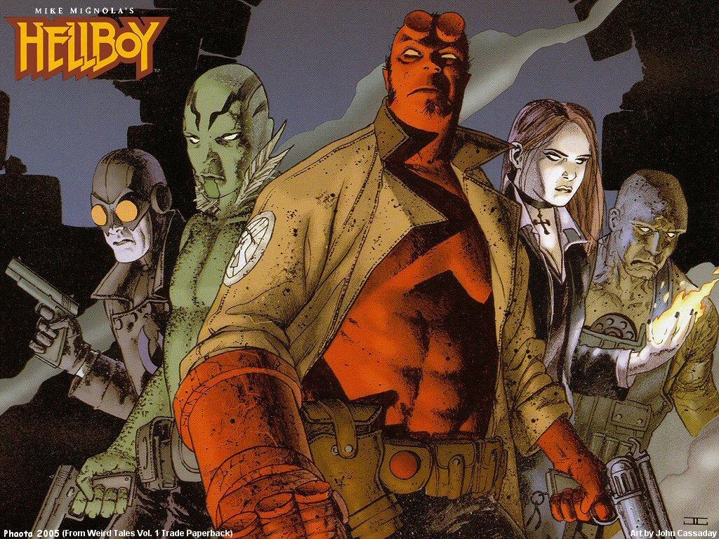 Comics Wallpaper: Hellboy - Characters