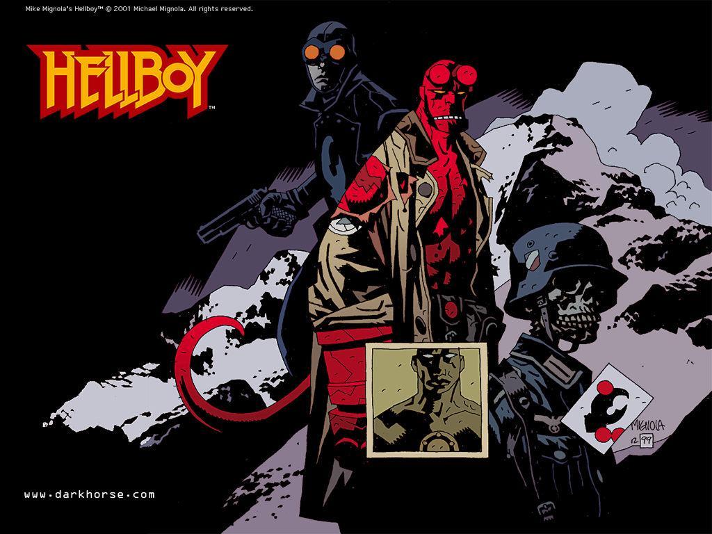 Comics Wallpaper: Hellboy - the Conqueror Worm