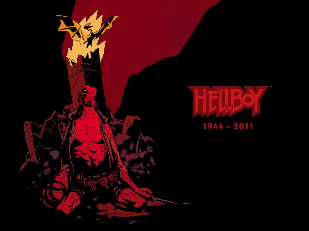 Comics Wallpaper: Hellboy - RIP