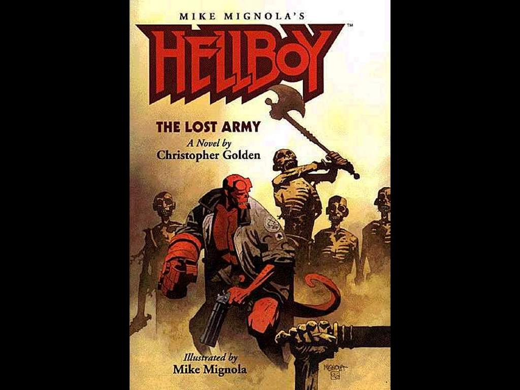 Comics Wallpaper: Hellboy - the Lost Army