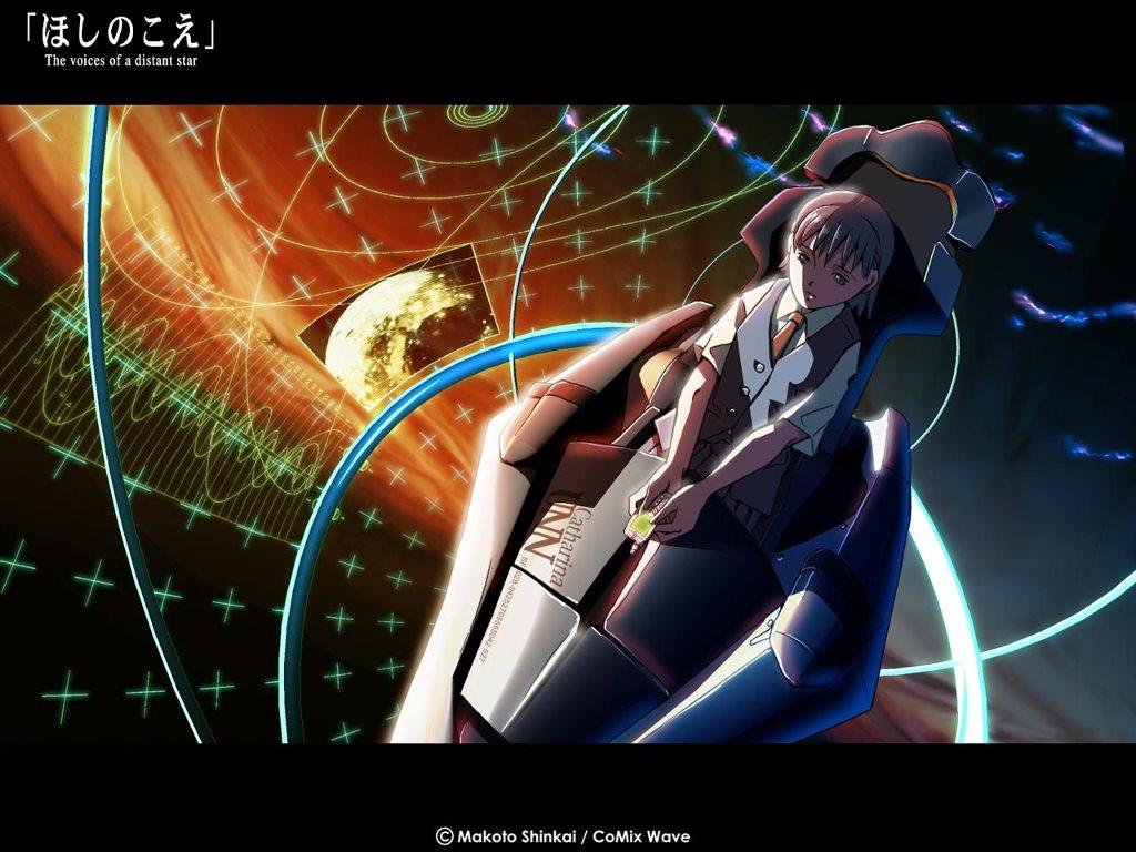Comics Wallpaper: Hoshi no Koe - Voices of a Distant Star