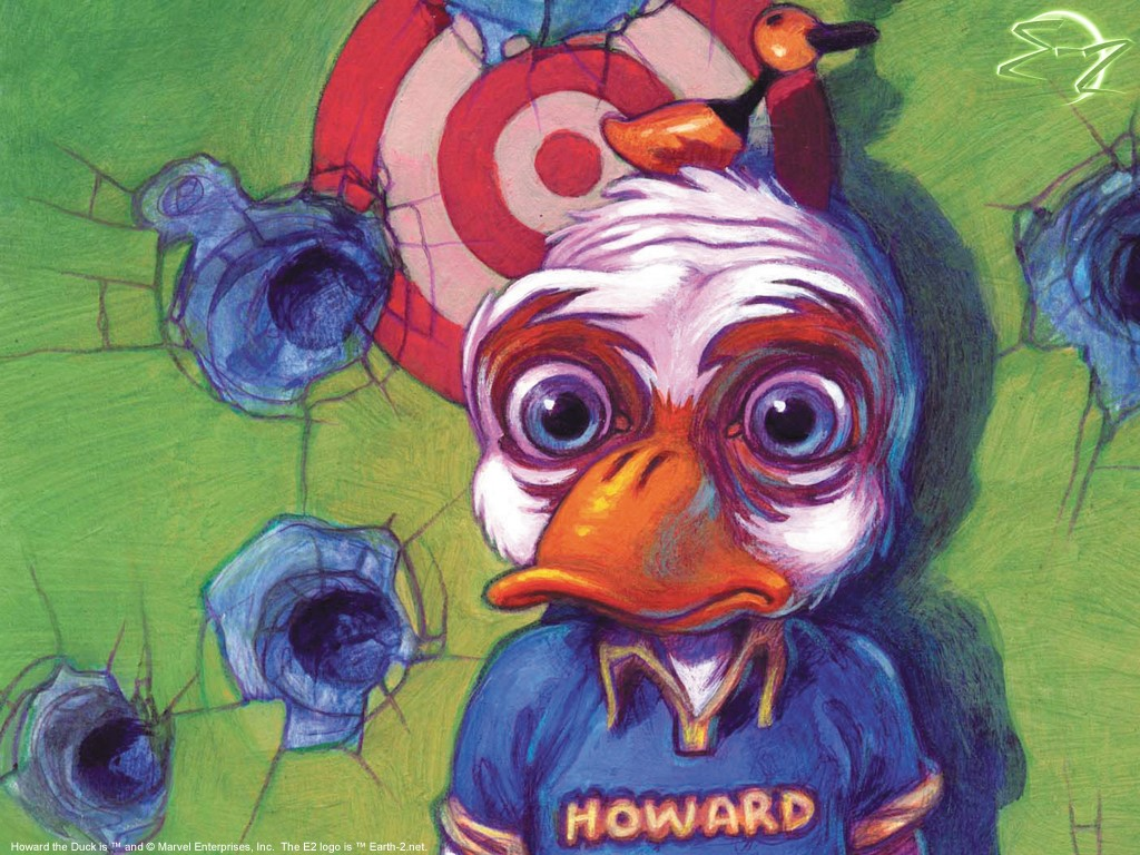 Comics Wallpaper: Howard the Duck
