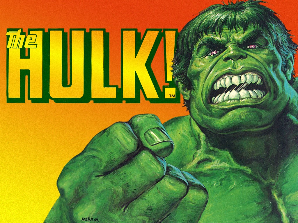 Comics Wallpaper: Hulk (by Earl Norem)