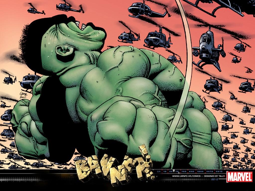 Comics Wallpaper: Hulk - Banner