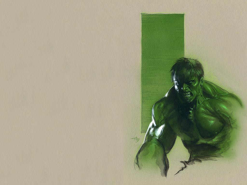 Comics Wallpaper: Hulk (by Gabriele Dell Otto)