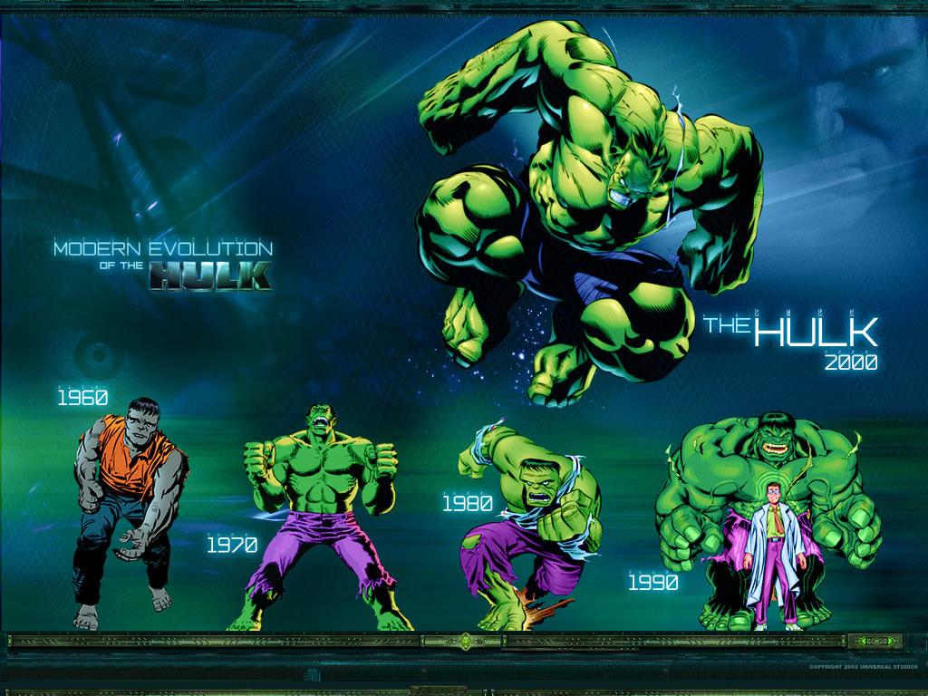 Comics Wallpaper: Hulk - Evolution