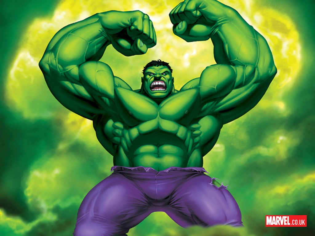 Comics Wallpaper: Hulk - Marvel UK