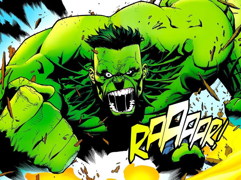 Comics Wallpaper: Hulk - Rage