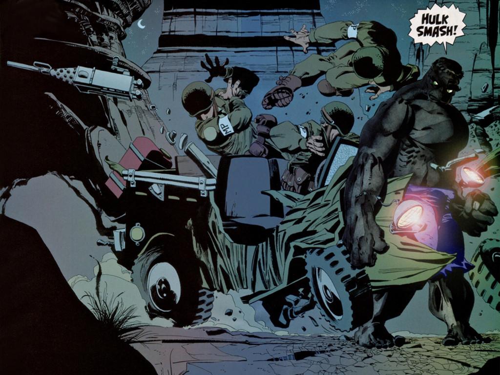 Comics Wallpaper: Hulk - Grey