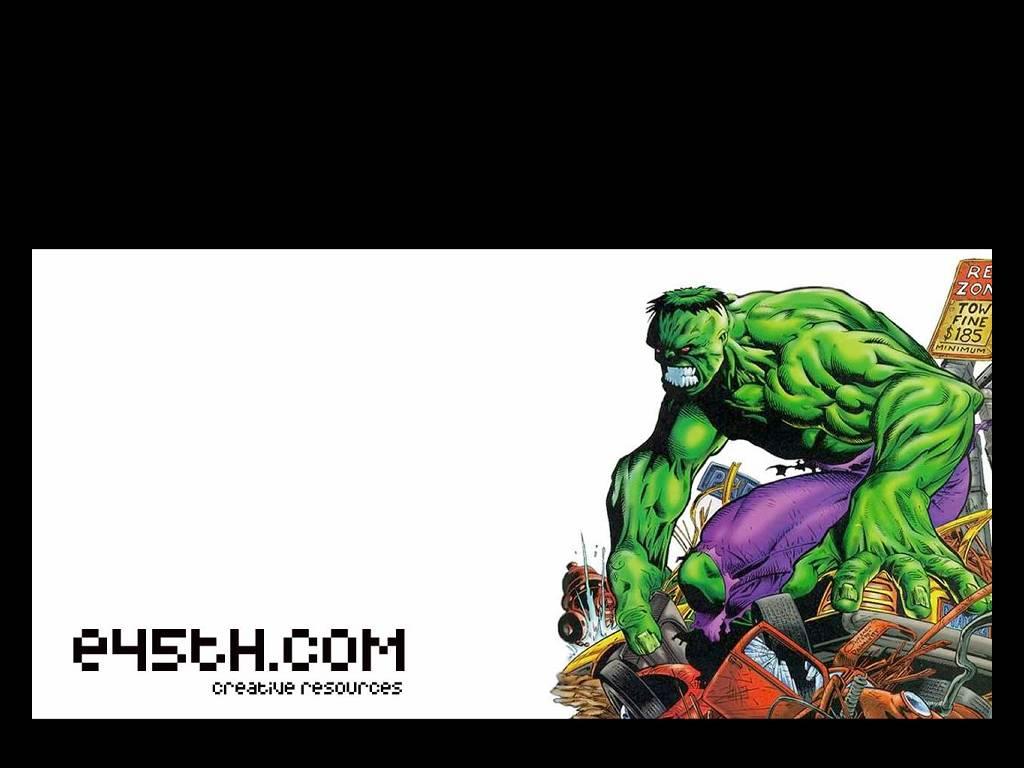 Comics Wallpaper: Hulk Smashes