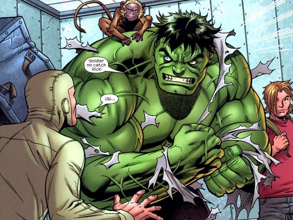 Comics Wallpaper: Hulk