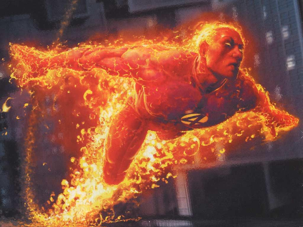 Comics Wallpaper: Human Torch