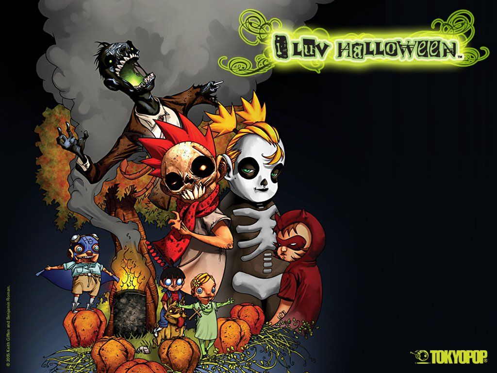 Comics Wallpaper: I Luv Halloween