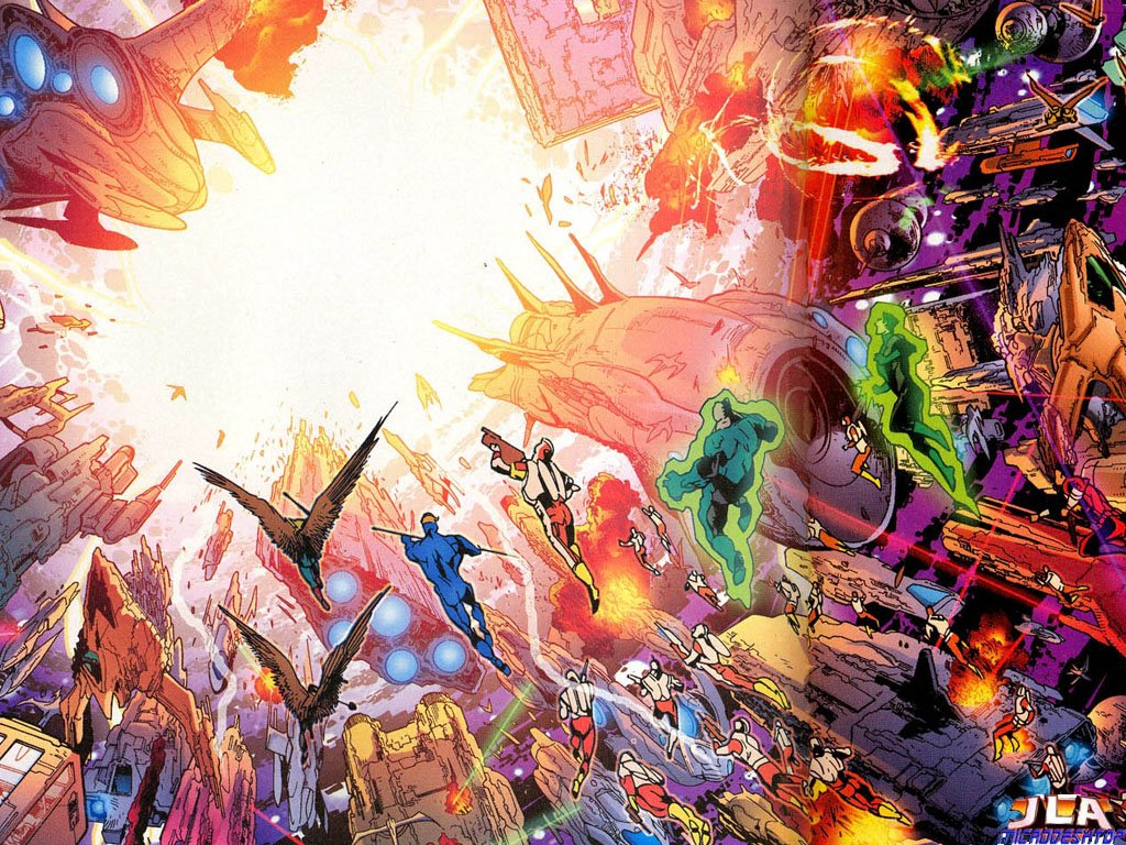 Comics Wallpaper: Infinite Crisis