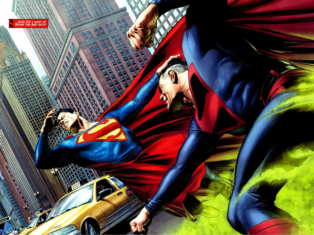 Comics Wallpaper: Infinite Crisis - Supermen