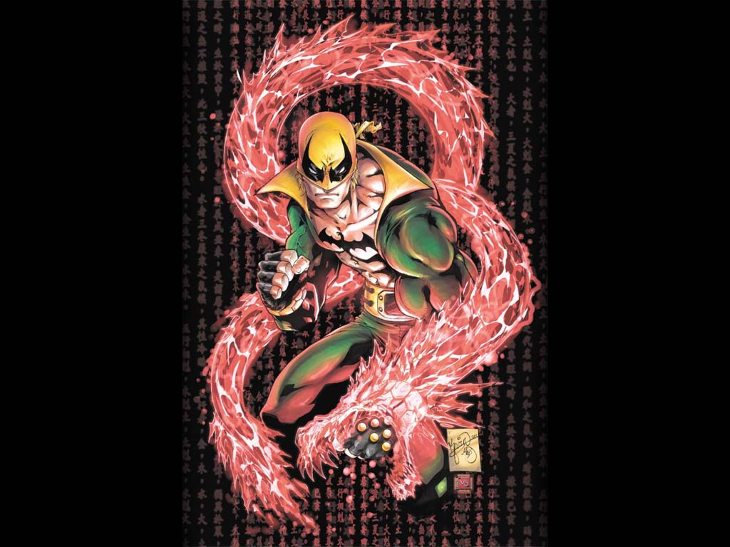 Comics Wallpaper: Iron Fist