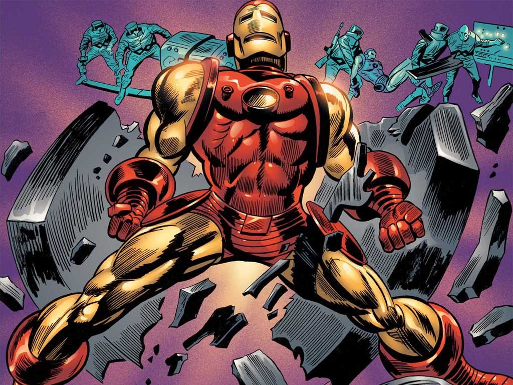 Comics Wallpaper: Iron Man (by Gene Colan)