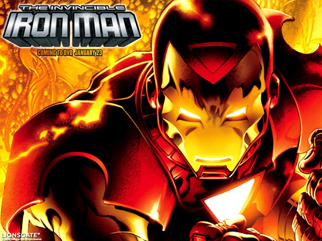 Comics Wallpaper: Iron Man - DVD