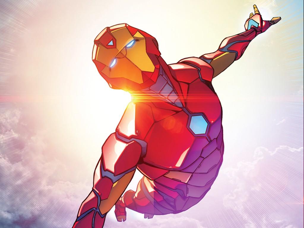 Comics Wallpaper: Iron Man - Ironheart