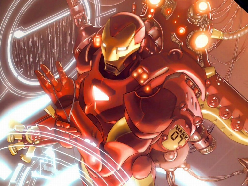 Comics Wallpaper: Iron Man - Mark 07
