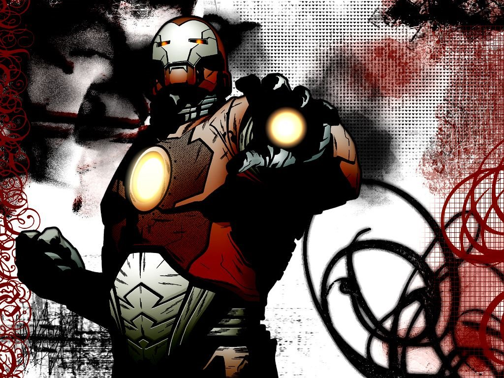 Comics Wallpaper: Iron Man