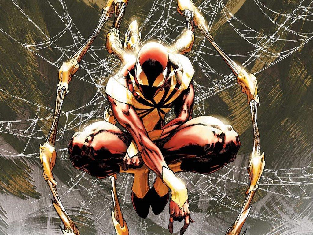 Comics Wallpaper: Iron Spider