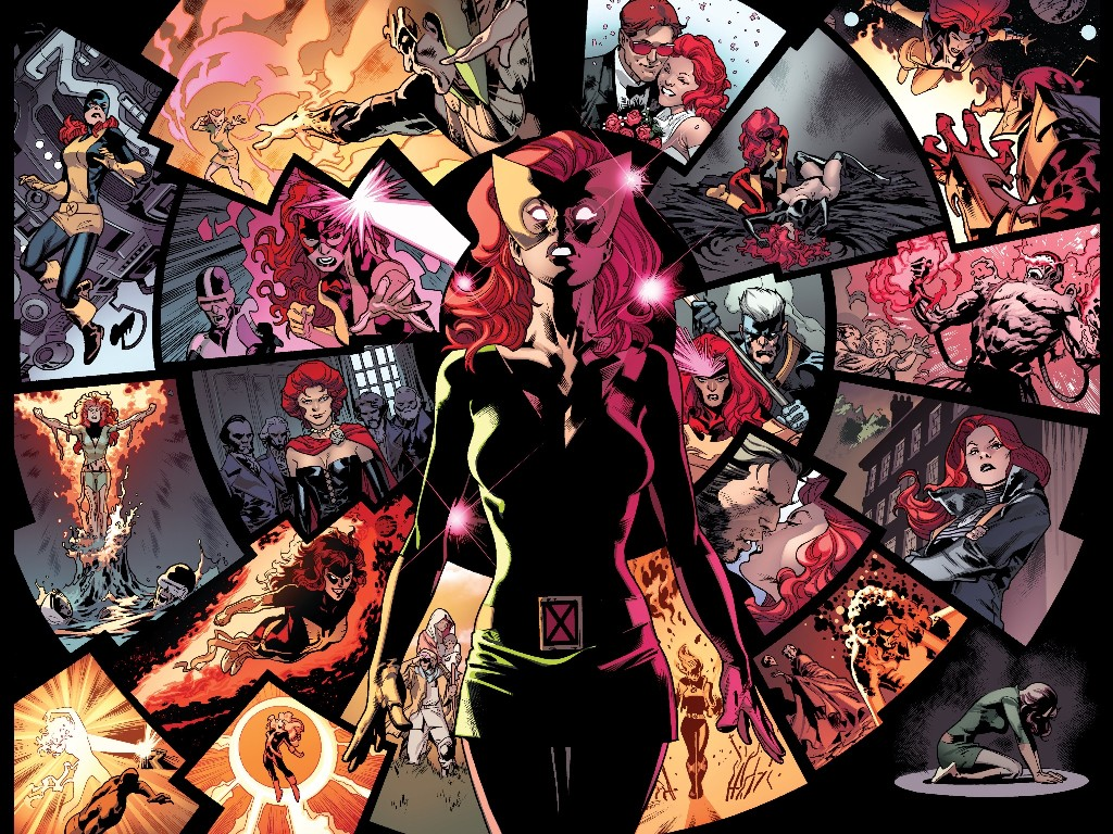 Comics Wallpaper: Jean Grey