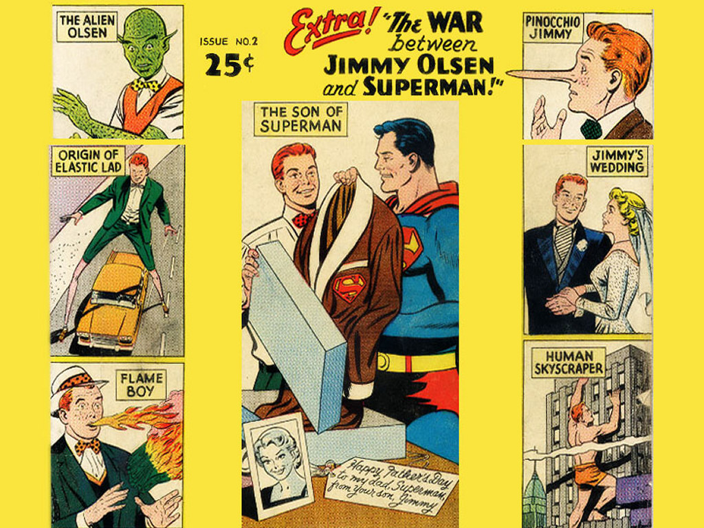 Comics Wallpaper: Jimmy Olsen