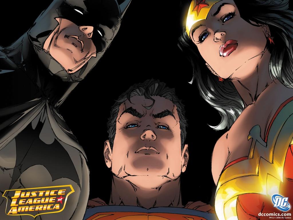 Papel de Parede Gratuito de Quadrinhos : Liga da Justiça
