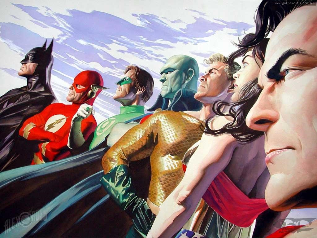 Comics Wallpaper: JLA (by Alex Ross)