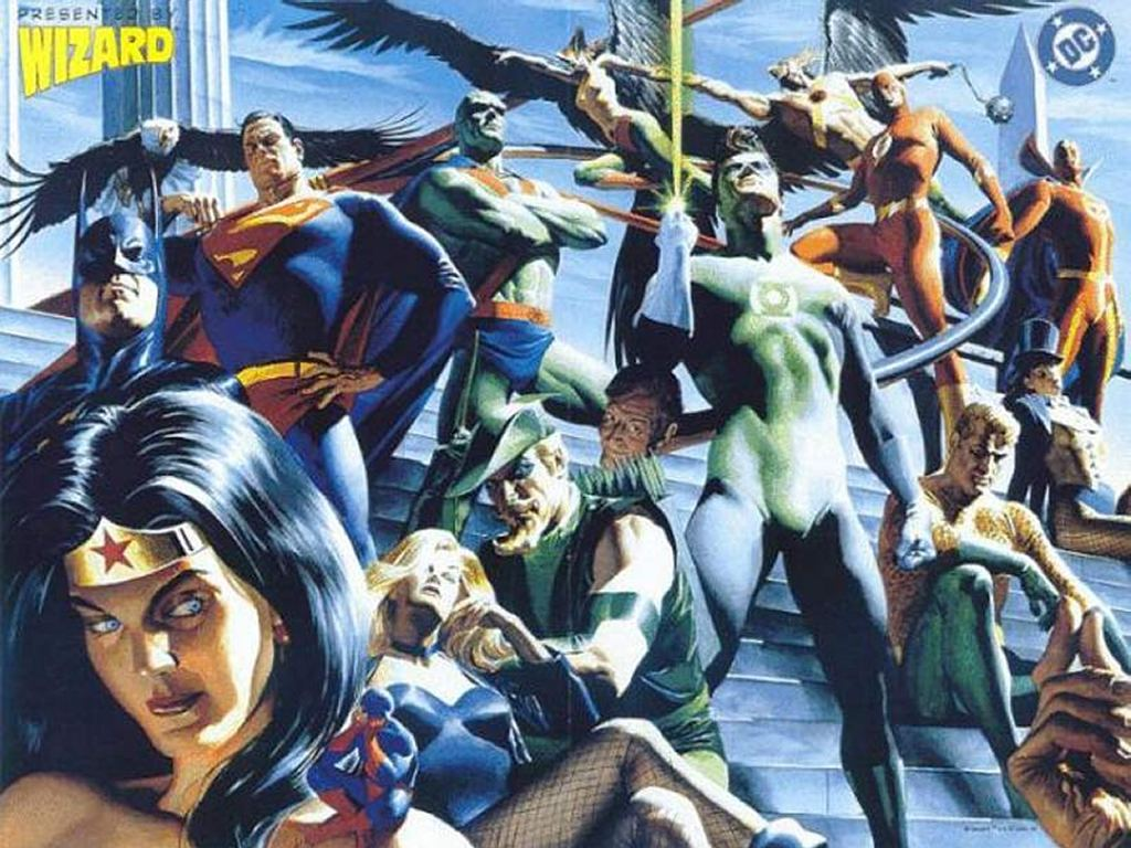 Comics Wallpaper: JLA by Alex Ross