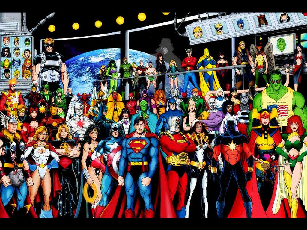 Comics Wallpaper: JLA and Avengers - Generations