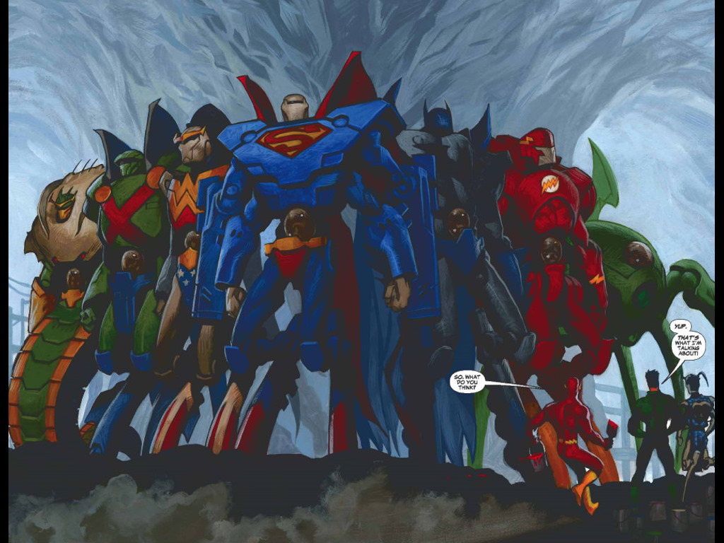 Comics Wallpaper: JLA Classified - Cold Steel