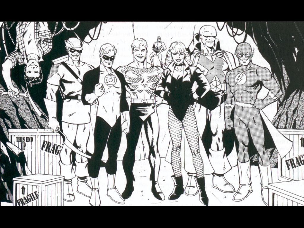 Comics Wallpaper: JLA - Year One