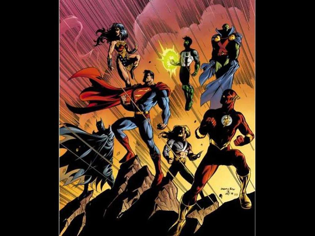 Comics Wallpaper: JLA