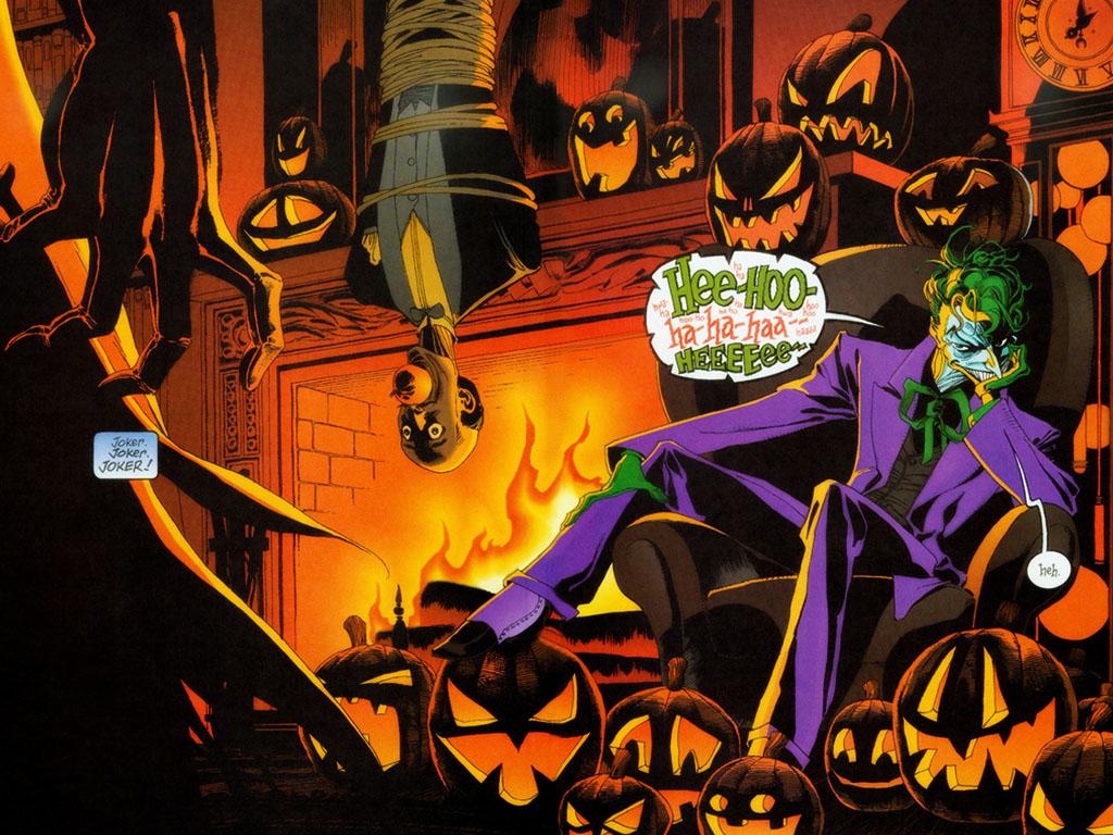 Comics Wallpaper: Joker - Halloween