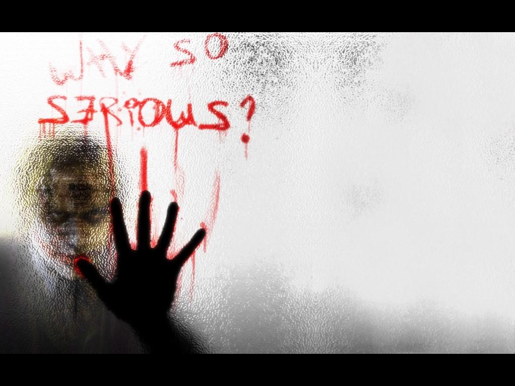 Comics Wallpaper: Joker - Why So Serious?