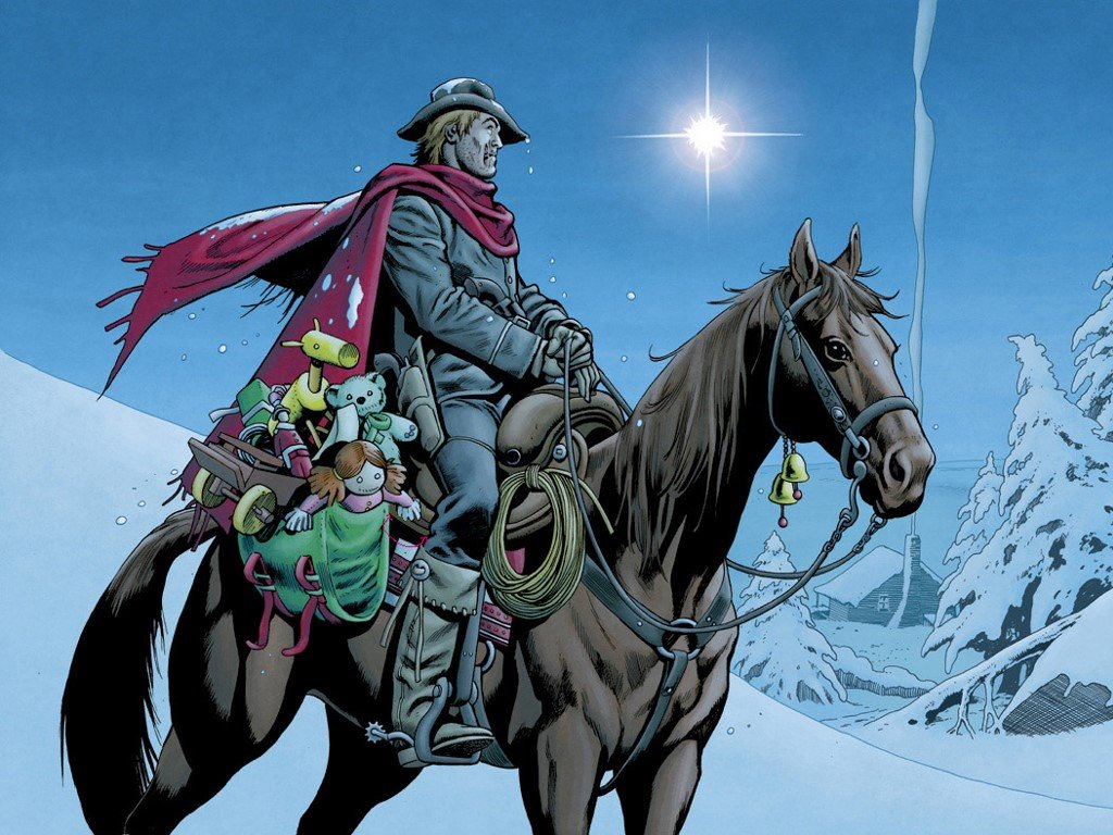 Comics Wallpaper: Jonah Hex - Christmas