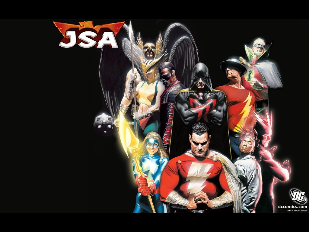 Comics Wallpaper: JSA (by Alex Ross)