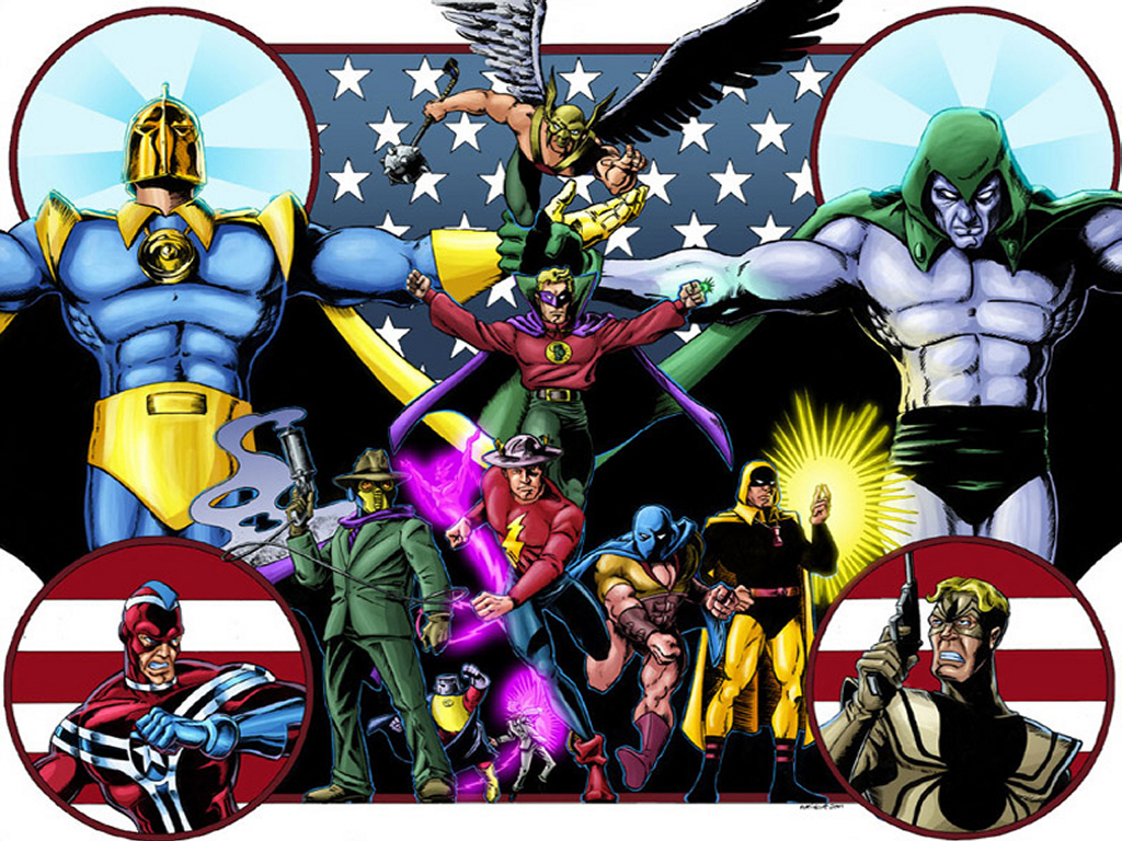 Comics Wallpaper: JSA