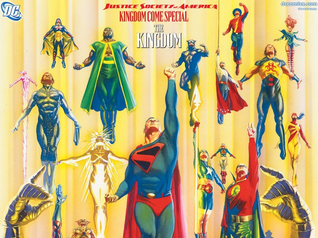 Comics Wallpaper: JSA - The Kingdom
