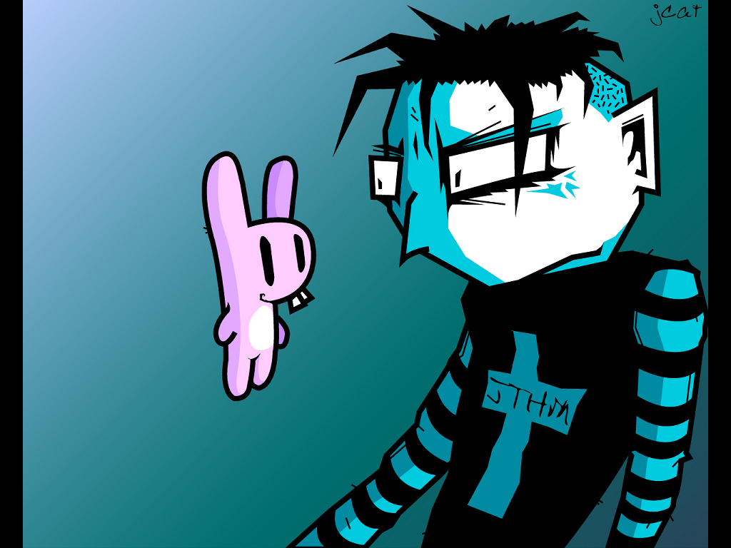 Comics Wallpaper: Johnny, the Homicidal Maniac