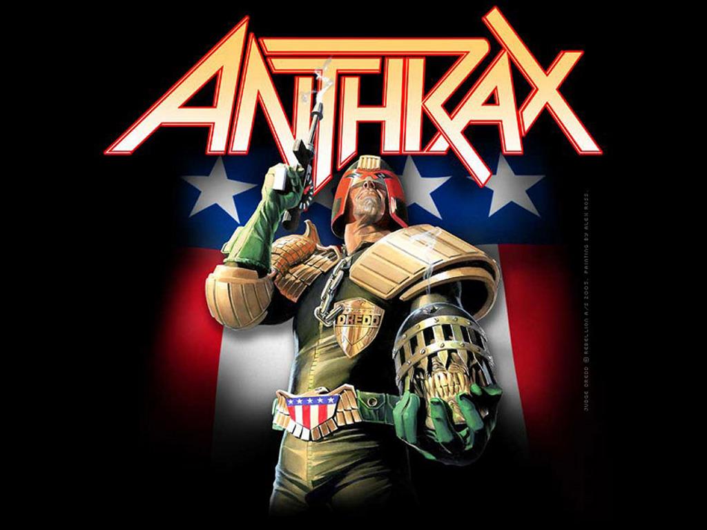 Comics Wallpaper: Judge Dredd - Anthrax