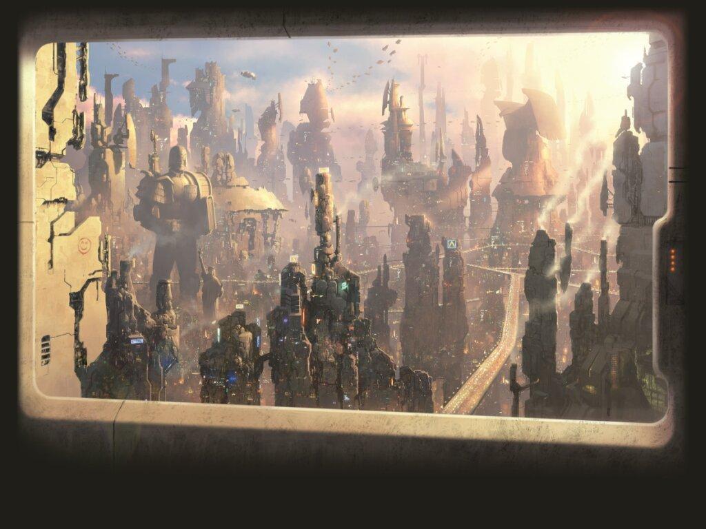 Comics Wallpaper: Judge Dredd - Megacity One
