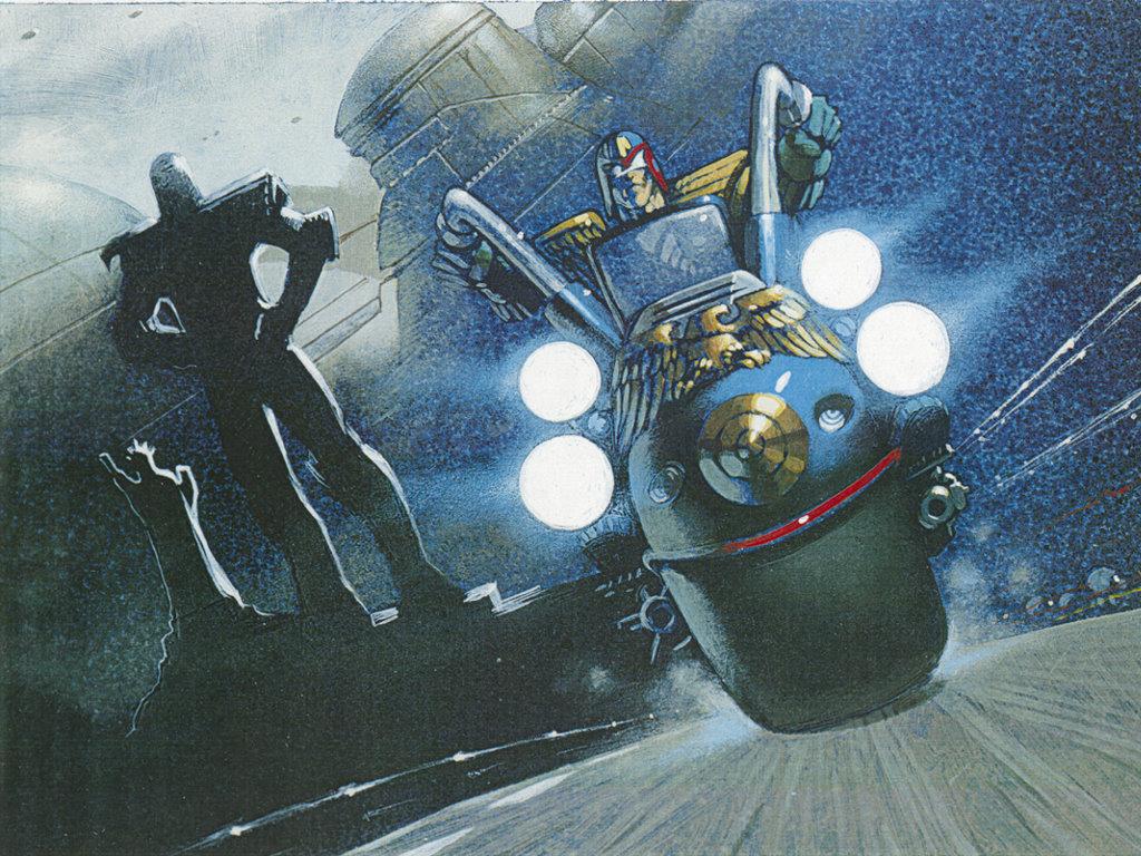 Comics Wallpaper: Judge Dredd