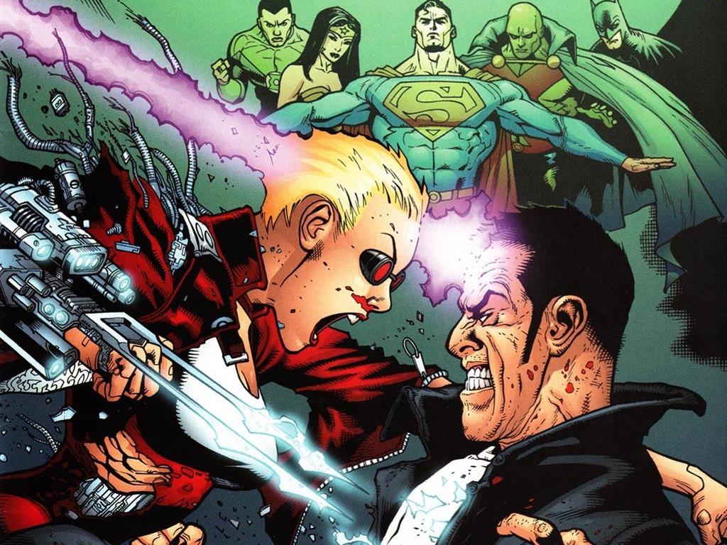 Comics Wallpaper: Justice League Elite