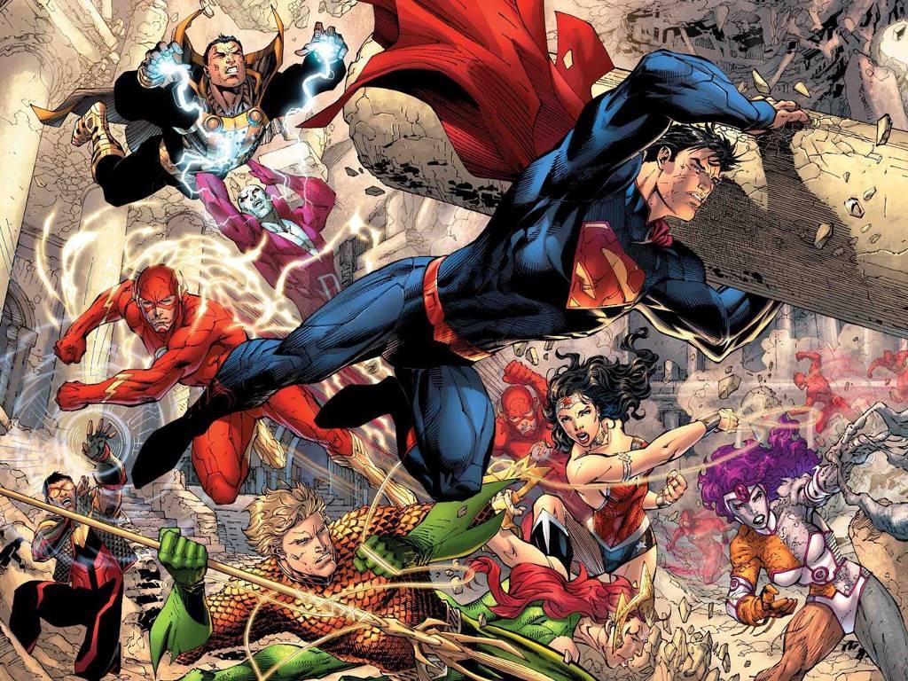 Comics Wallpaper: Justice League - New 52
